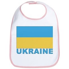 World Flag Ukraine Bib