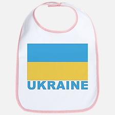 World Flag Ukraine Bib