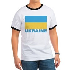 World Flag Ukraine T
