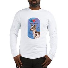 Peruvian Inca Orchid Long Sleeve T-Shirt