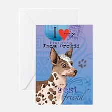 Peruvian Inca Orchid Greeting Card
