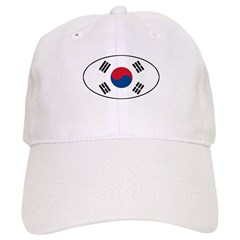 South Korean flag Baseball Cap