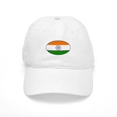 India (Indian) Flag Baseball Cap