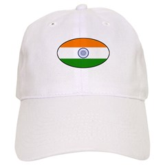 India (Indian) Flag Baseball Cap