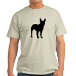 Bull Terrier Silhouette Light T-Shirt