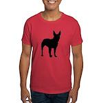 Bull Terrier Silhouette Dark T-Shirt
