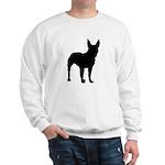 Bull Terrier Silhouette Sweatshirt