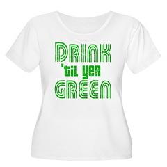 St Patricks Day 4 Leaf Clover T-Shirt