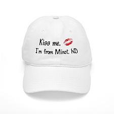 Kiss Me: Minot Baseball Cap