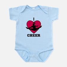 I love Cheerleading Infant Bodysuit