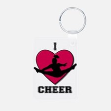 I love Cheerleading Keychains