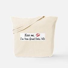 Kiss Me: Grand Forks  Tote Bag