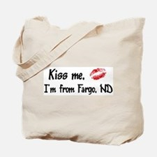 Kiss Me: Fargo Tote Bag