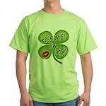 Kiss Me I'm Irish Green T-Shirt