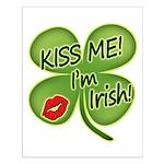 Kiss Me I'm Irish Small Poster