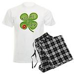 Kiss Me I'm Irish Men's Light Pajamas