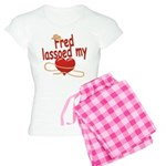 Fred Lassoed My Heart Women's Light Pajamas