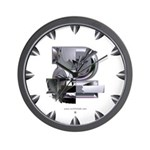 Heavy Metal 2 Wall Clock