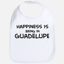 Happiness is Guadelupe Bib