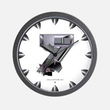 Heavy Metal 7 Wall Clock