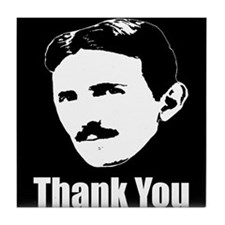 The Thank You Series Tile Coaster