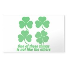 Shamrocks and Clovers Decal