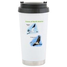 Cranes of North America Travel Mug