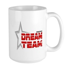 EN Dream Team Logo cafe press black Mugs