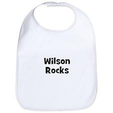 Wilson Rocks Bib