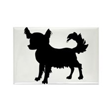 Chihuahua Silhouette Rectangle Magnet (10 pack)