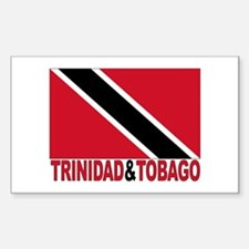 Trinidad And Tobago Rectangle Decal