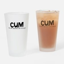 Cum - The Most Important Meal Drinking Glass
