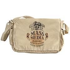 Mass Media Messenger Bag