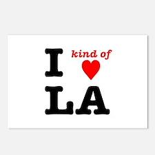 i kind of heart LA Postcards (Package of 8)