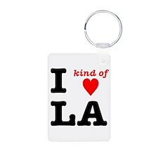 i kind of heart LA Keychains