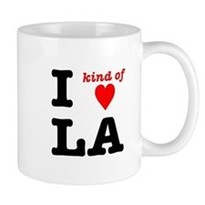 i kind of heart LA Mug