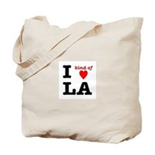 i kind of heart LA Tote Bag