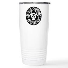 ZO Team Leader Black Travel Coffee Mug