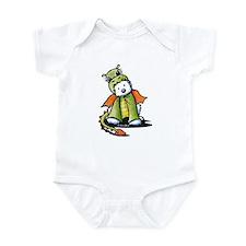 Year Of The Dragon Westie Infant Bodysuit