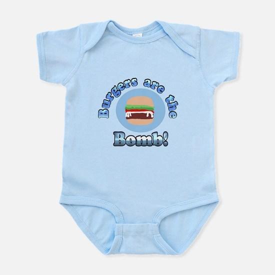Burgers are the Bomb Infant Bodysuit
