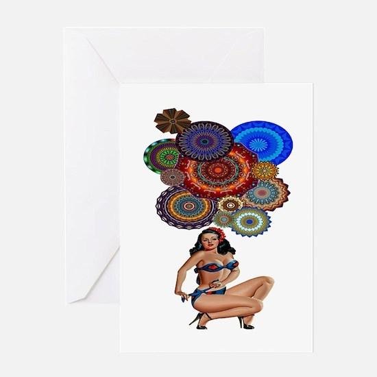 BOHEMIAN GIRL Greeting Cards