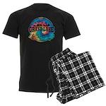 Grand Lake Old Circle Men's Dark Pajamas