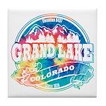 Grand Lake Old Circle Tile Coaster
