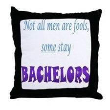 Men are Fools Throw Pillow
