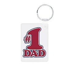 #1 DAD Keychains