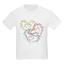 Hearts All Aflutter! - T-Shirt