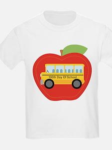 100th Day of School Apple T-Shirt