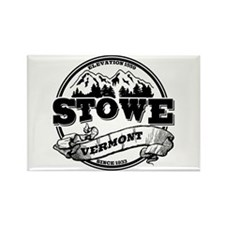 Stowe Old Circle Rectangle Magnet