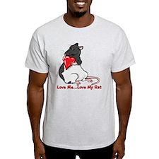 Love My Rat T-Shirt