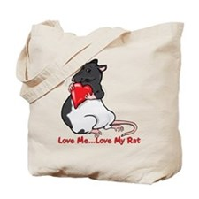 Love My Rat Tote Bag